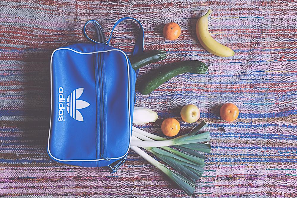 sac bleu adidas original