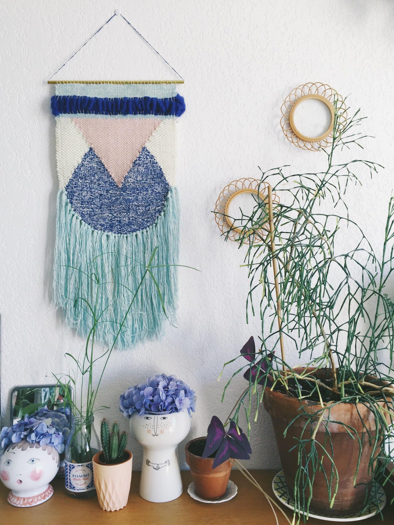 chez morganours, laine et plantes