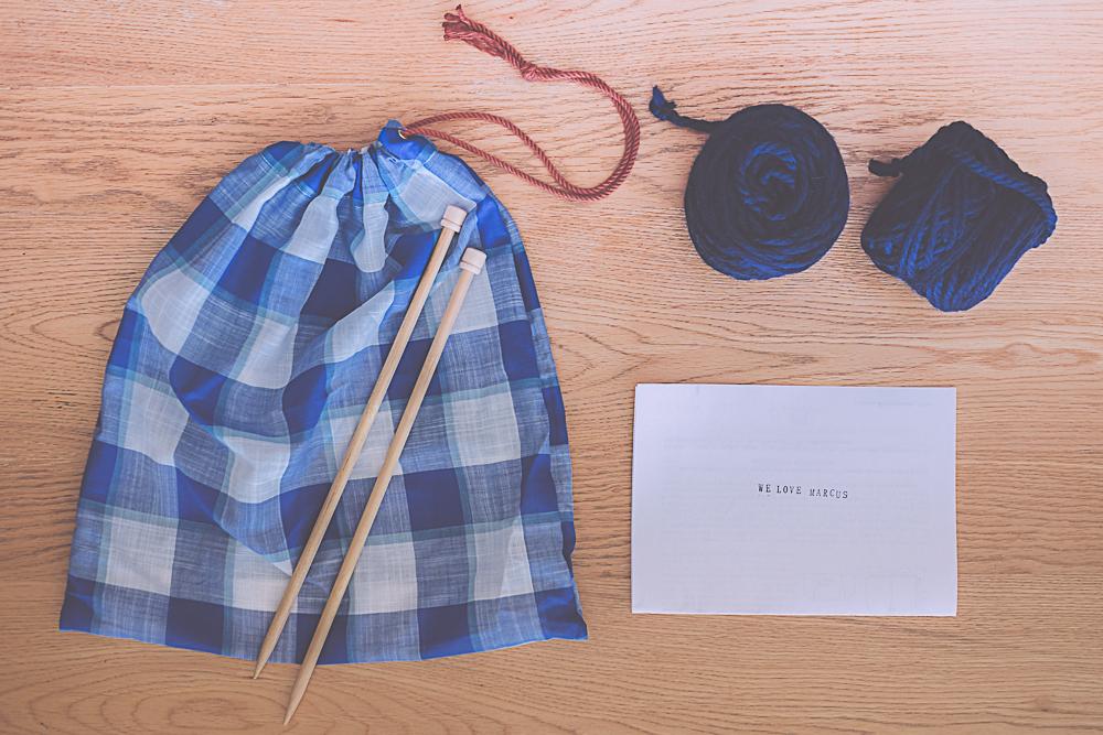 idée cadeau : kit tricot fait maison