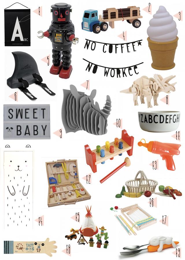 sélection cadeaux noel chez kidshop
