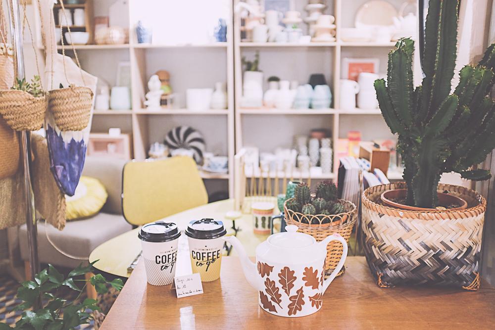 Boutique de décoration Les fleurs Paris