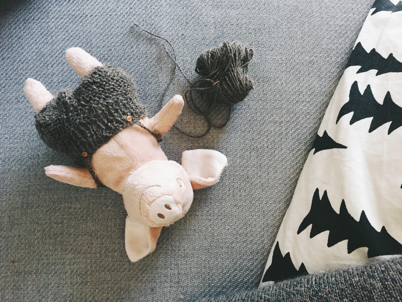 """projet """"habille ton cochon"""" par morganours"""