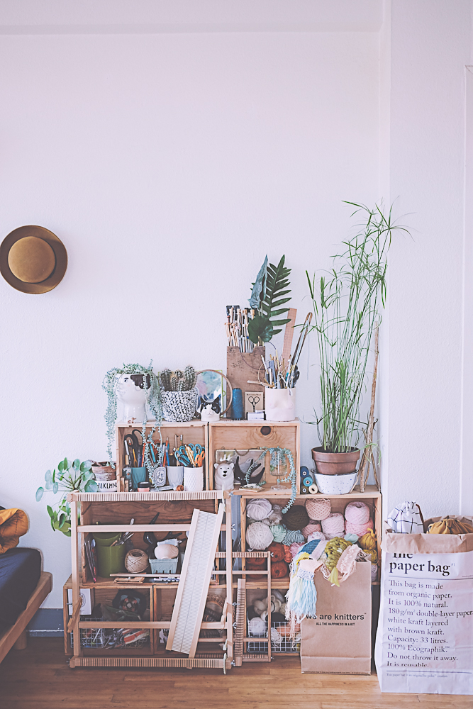décoration salon folk et vintage