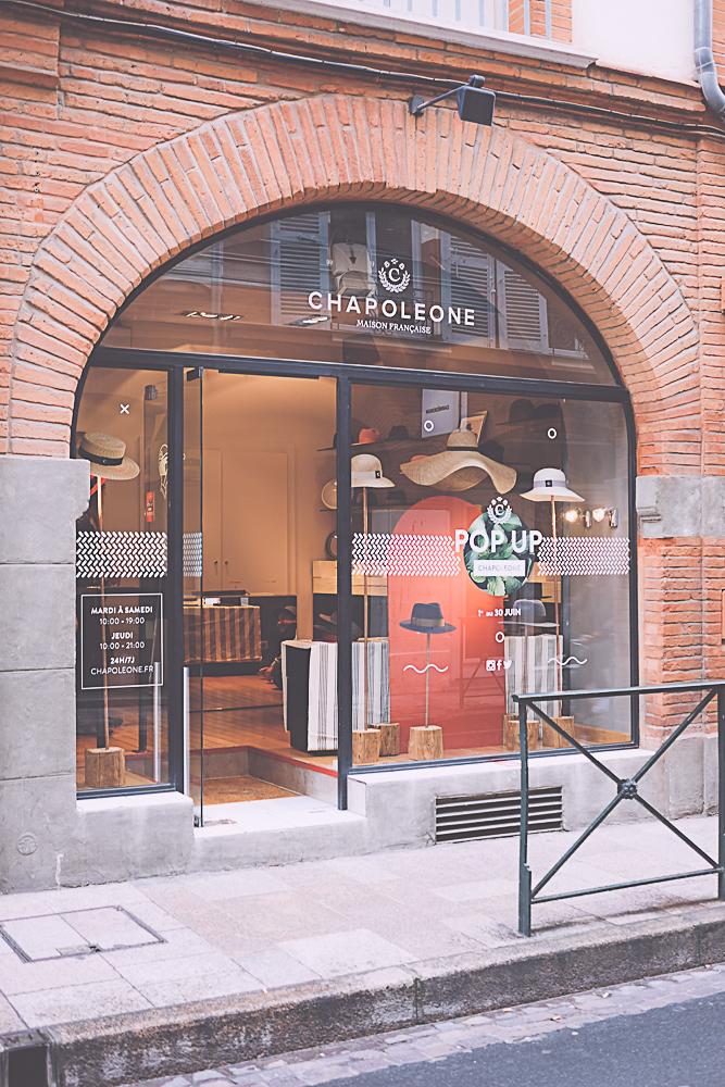 pop up store Chapoleone