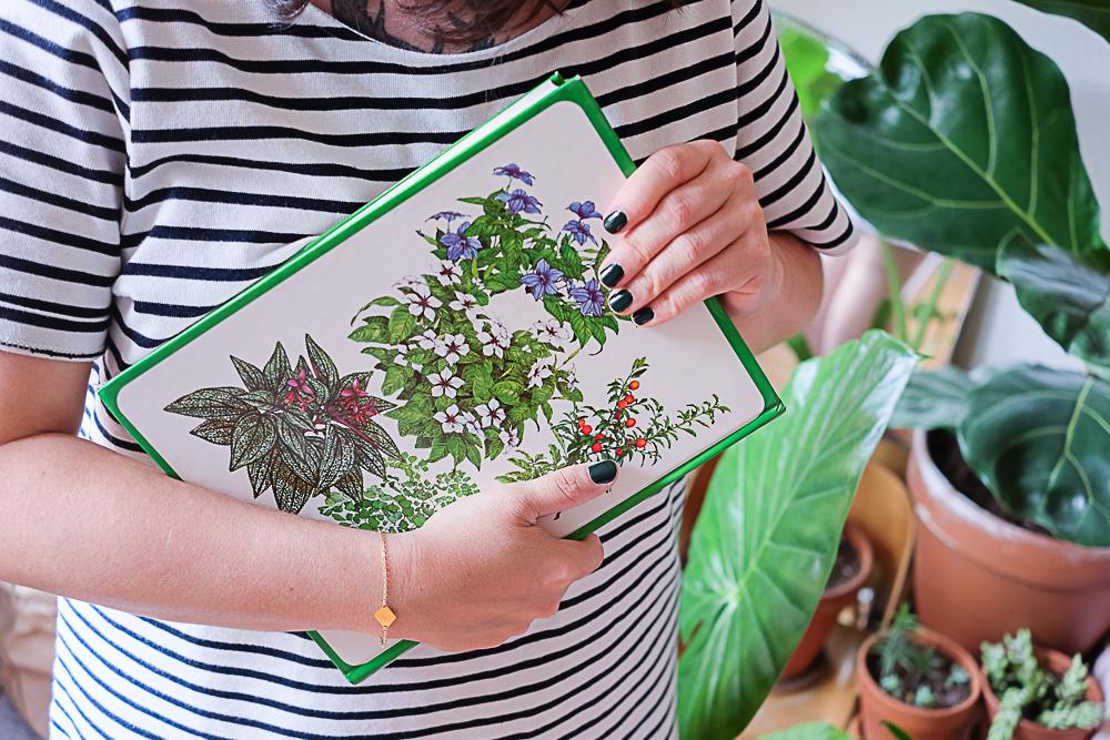 livre sur les plantes