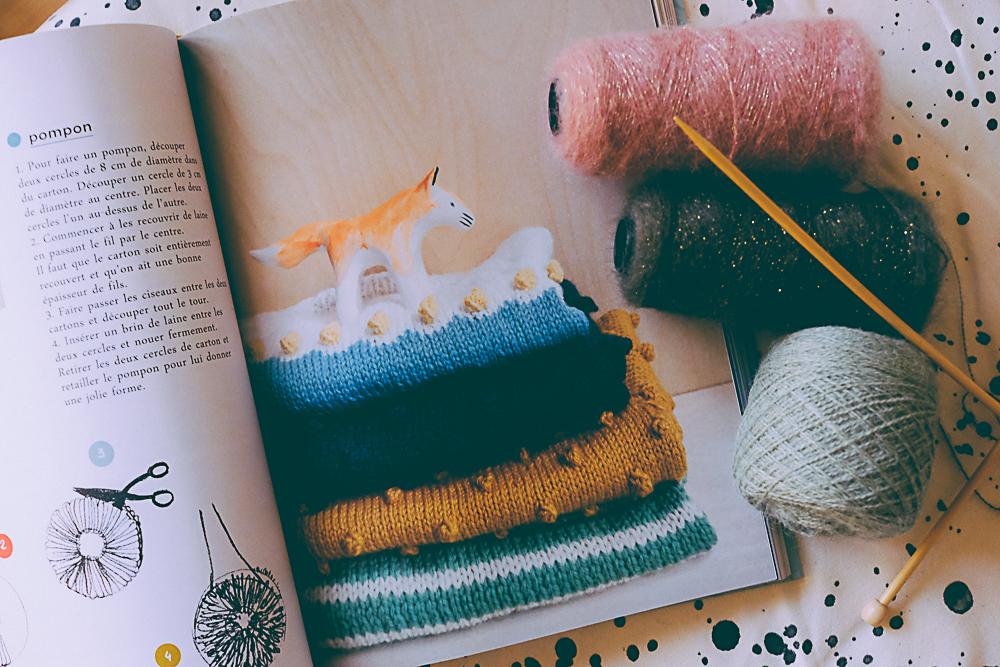 livre les tricot bébé de Mlle Quincampoix