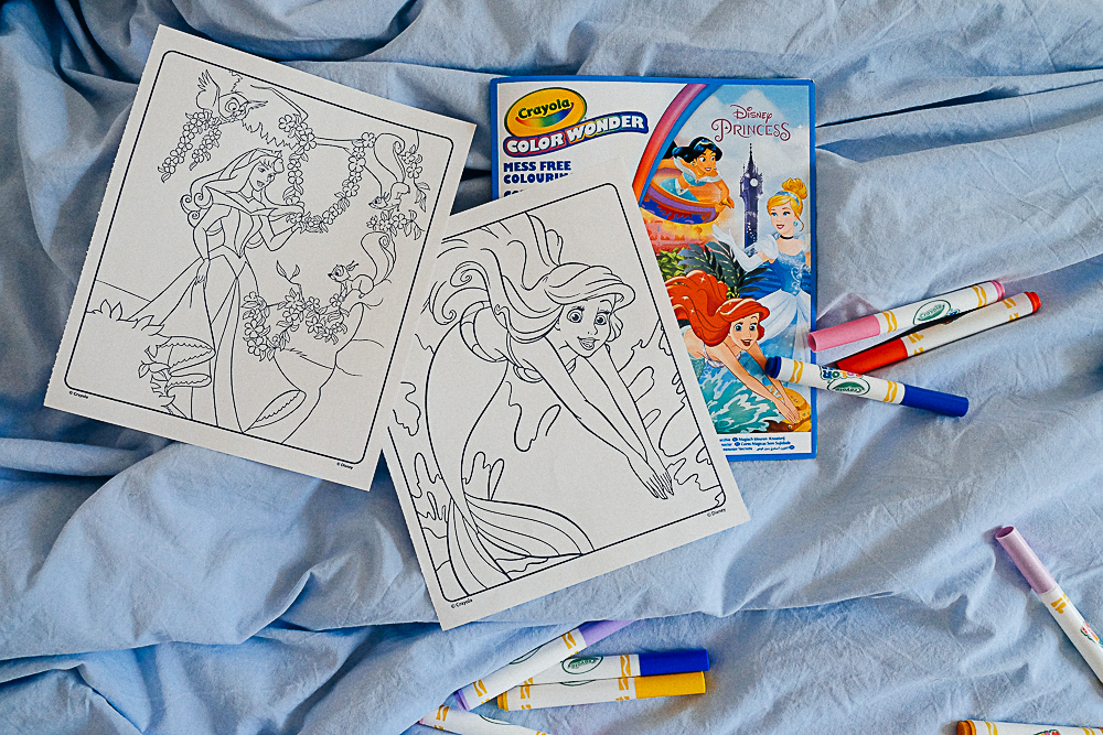 Coloriage magique Color Wonder de Crayola