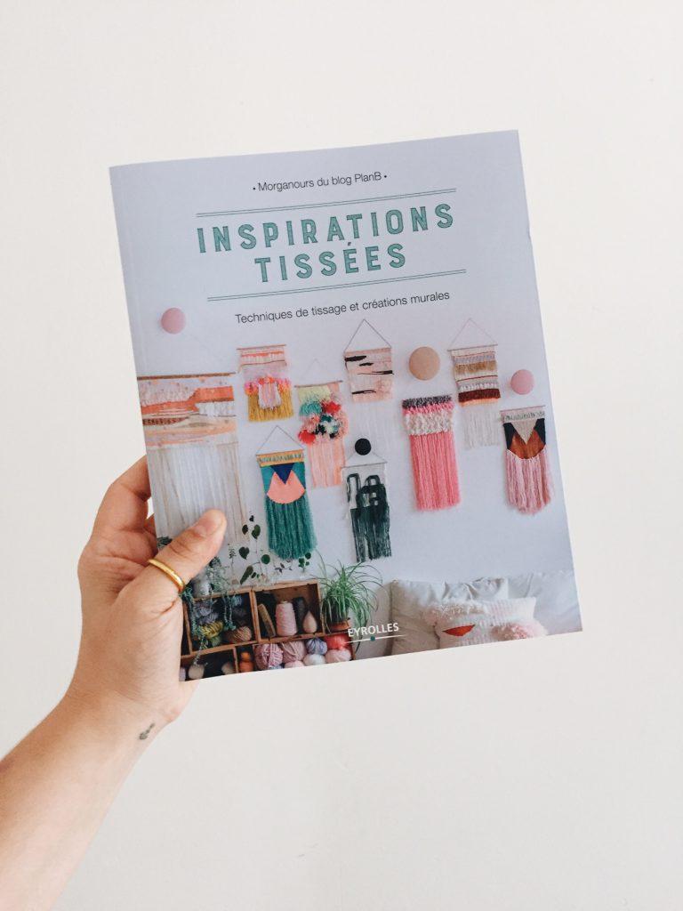 inspirations tissées, livre DIY tissage