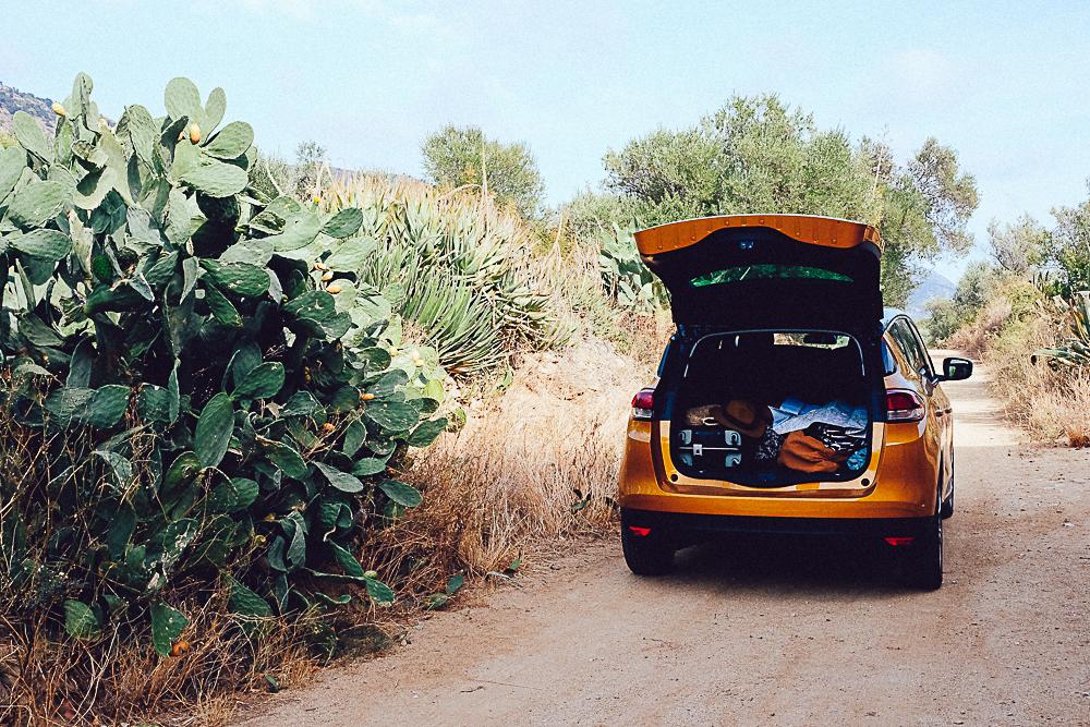 road trip espagnol Renault Scenic