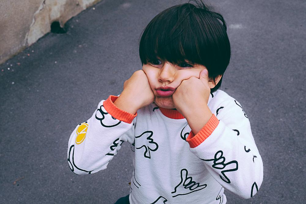 Look enfant en Petit Gang