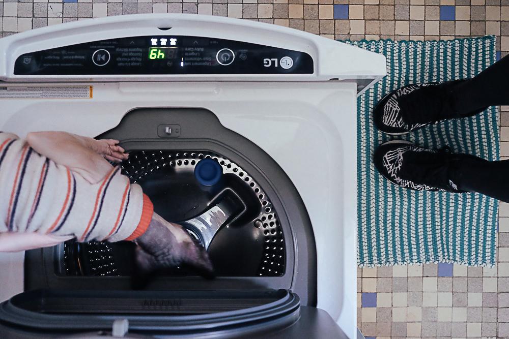 machine à laver LG Twinwash