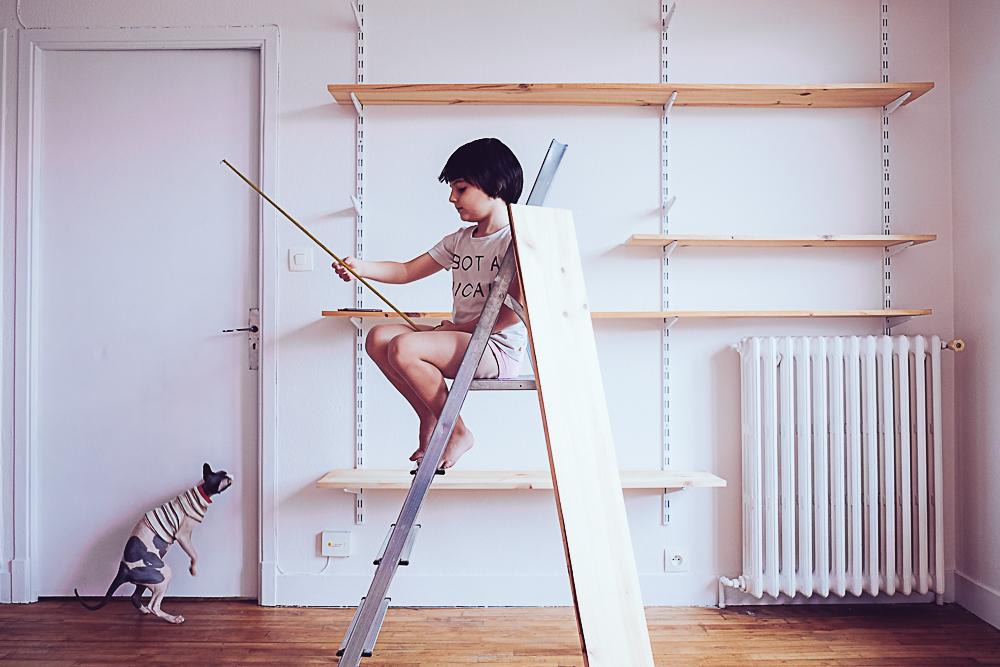 peinture et déco salon
