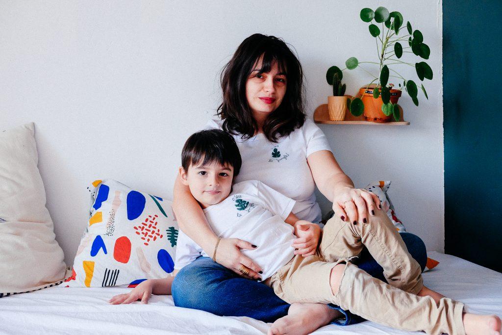 DIY broderie de t.shirt par morganours