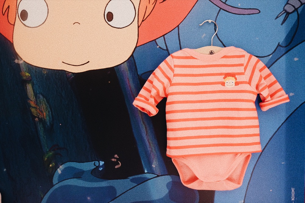 Studio Ghibli par Petit Bateau