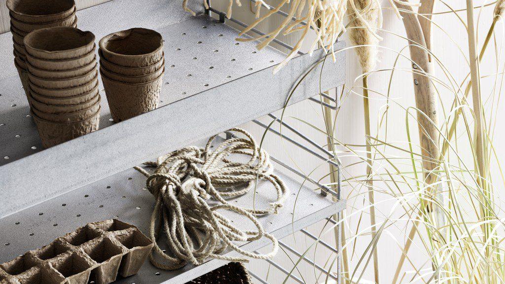 étagères de système String pour l'extérieur