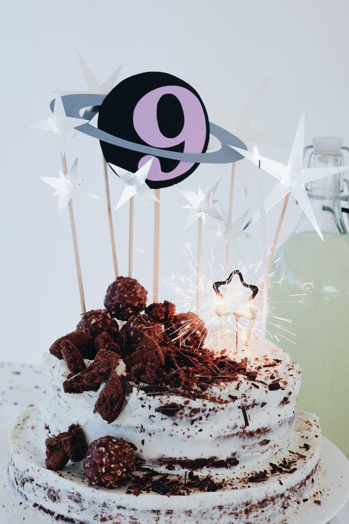 fête d'anniversaire DIY 9 ans