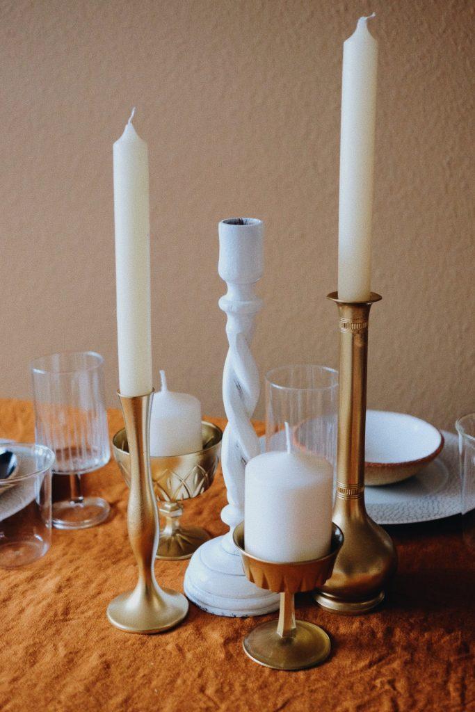 DIY déco de table de Noël
