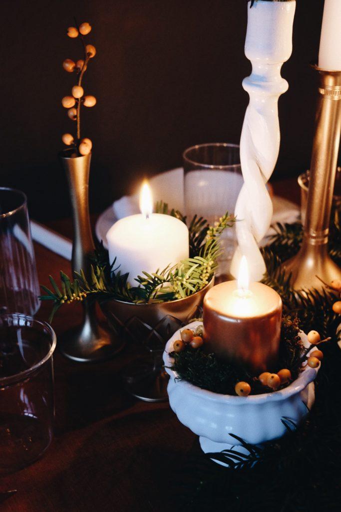 déco table de Noël DIY